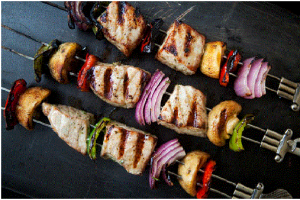 Grilled Tuna Kebabs Recipe
