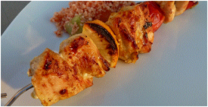 Cumin curry chicken skewers Recipe