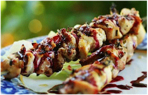 Rosemary Chicken Skewers Recipe